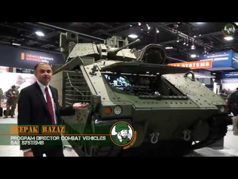 Next Generation Bradley IFV Infantry Fighting Vehicle Tracked Armoured BAE Systems US Army