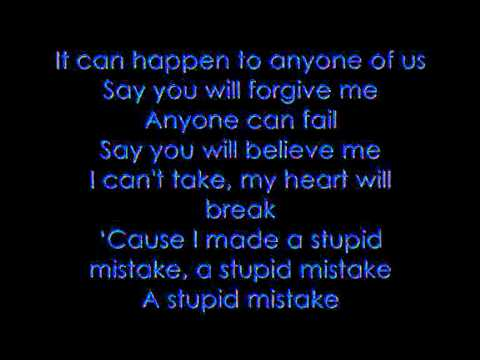 Gareth Gates - Anyone of us (Lyrics)