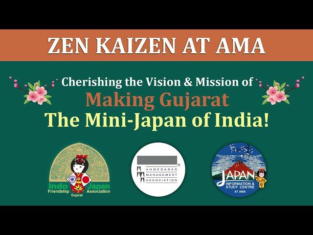 ZEN KAIZEN AT AMA - 2 Minutes Peep into first of its kind Japanese Zen Garden & Kaizen Academy Hall!