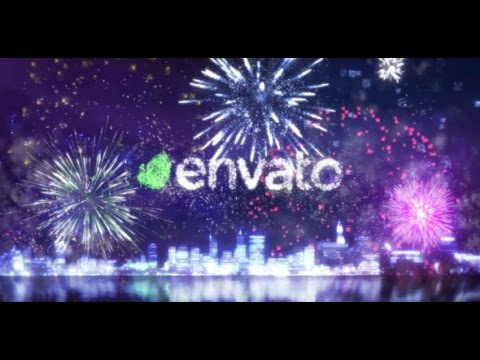Fireworks/Celebrating Logo 2 - After Effects Template - YouTube