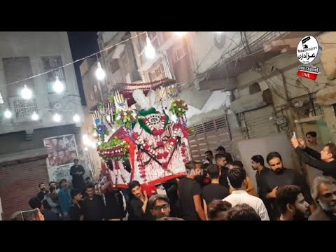 07 Saffar 1441-2019 Anjuman Dar E Hussain Of Sukkur Matamdari At: Jhandi Wadhon Ka Pir Hyderabad