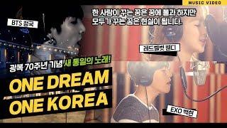 EXO 백현, 원더걸스 예은, EXID 솔지가 함께 부른 One Dream One Korea MV(자막)