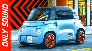 New citroen ami 2020 - first test drive only sound