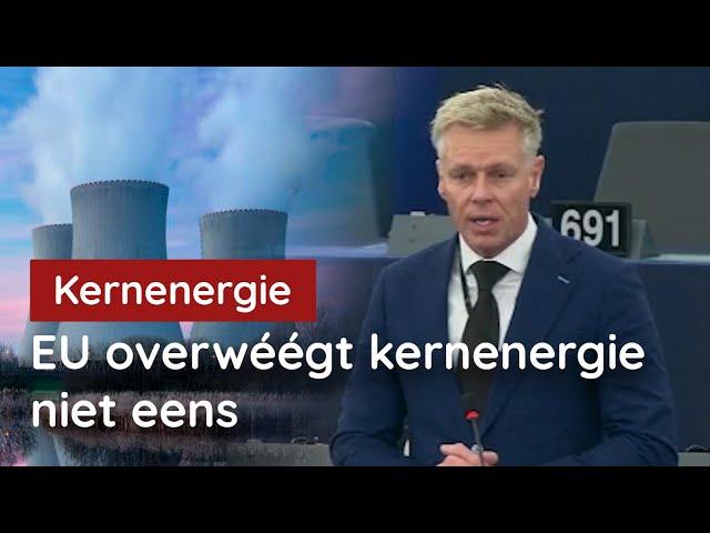 Hypocriet! EU smijt met duizenden klimaatmiljarden, maar kernenergie 'te duur'