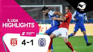 Hallescher FC - SV Meppen | 6. Spieltag, 2020/2021 | MAGENTA SPORT