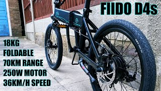 FIIDO D4s Electric Bike  / 250W Motor / 70KM Range / 36KM/H - Any Good?