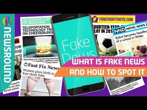 How to spot fake news | Newsround | CBBC