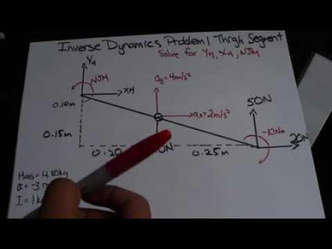 Biomechanics Inverse Dynamics Tutorial Example 1