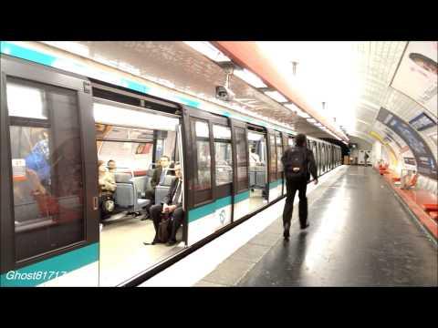 Paris Metro // Метро Парижа