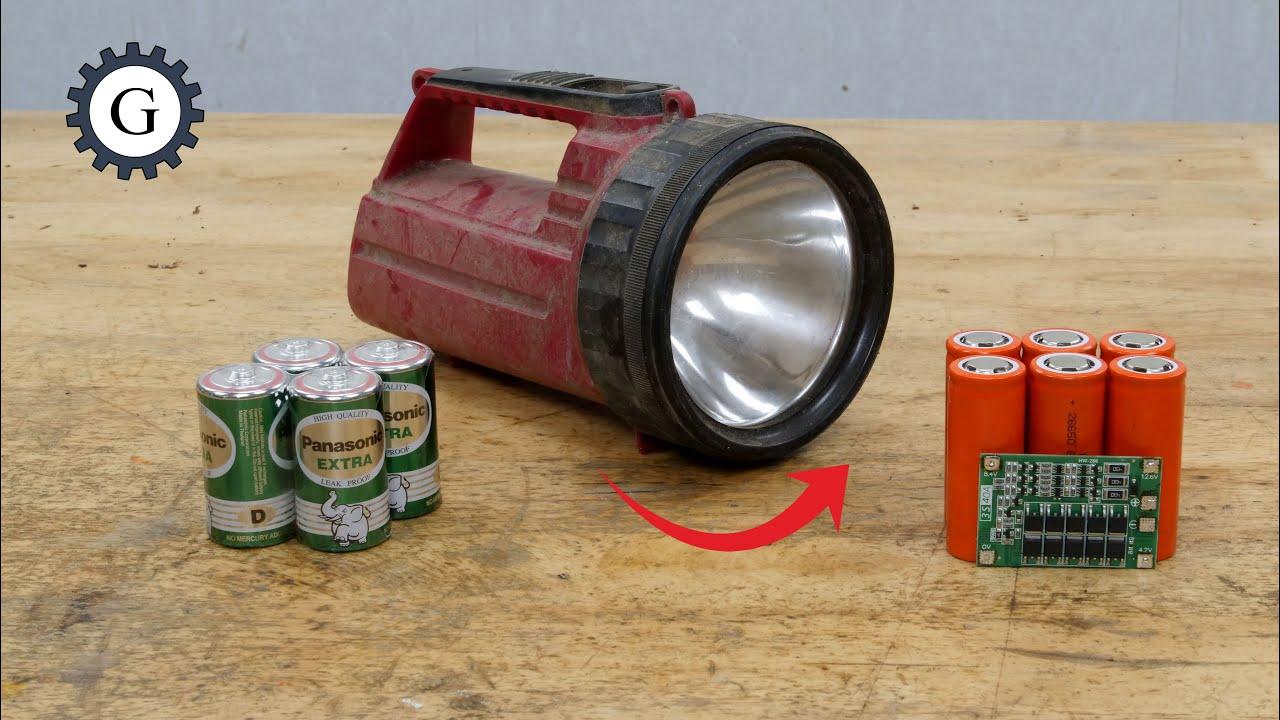 Vintage Japanese Flashlight Restoration