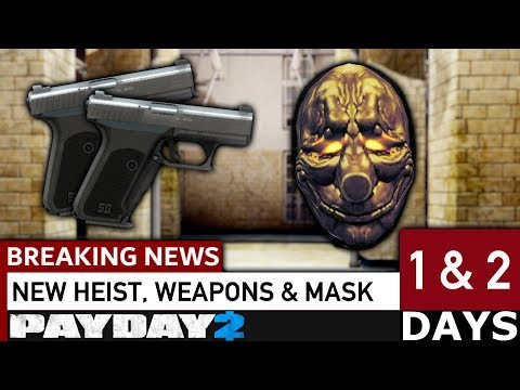 What's new in Days 1 & 2 of Breaking News? [PAYDAY 2]