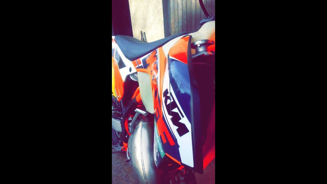Ktm 125 Exc Six Days Wolff Youtube