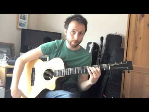 guitar lesson - string tapping & percussion