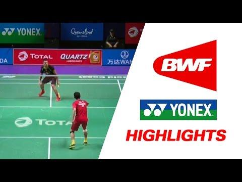 TOTAL BWF Sudirman Cup 2017   Badminton Day 1 Grp 1A-CHN vs HKG – Highlights