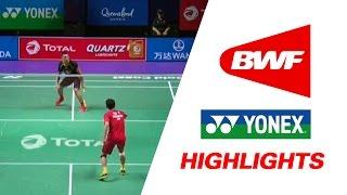 total bwf sudirman cup 2017   badminton day 1 grp 1a chn vs hkg highlights