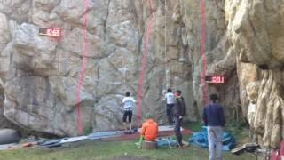 Полуфинал, лазание на скорость. Осенняя Магнитка - 2016 | Semifinal speed climbing - 2016