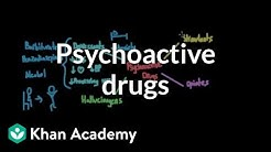 Overview of psychoactive drugs | Processing the Environment | MCAT | Khan Academy