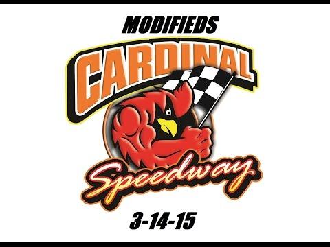 Modifieds 3-14-15 @ Cardinal Speedway