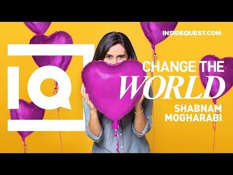 Building an Empire of Positivity - Shabnam Mogharabi | Inside Quest ...
