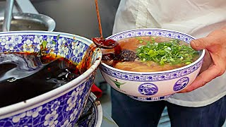 Beijing Street Food - Lanzhou Beef Hand Pulled Noodles 兰州拉面 /  蘭州の麺 / 난중 국수