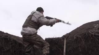 ЗСУ нагибают россиян в Водяном под Мариуполем  Съемка реального боя  АТО, ВСУ