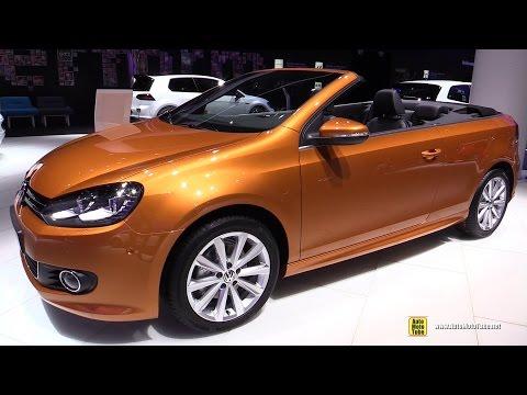 2016 Volkswagen Golf Cabriolet TSI - Exterior and Interior Walkaround - 2015 Frankfurt Motor Show