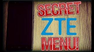 ZTE Secret Test Menu