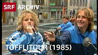 Töffli-Ferien (1985)  | Mit dem Mofa ins Tessin | SRF Archiv