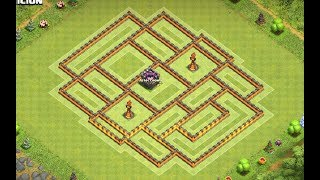 Th10 Farming base + replays | Th10 hybrid base | Diseño de aldea | Clash of clans