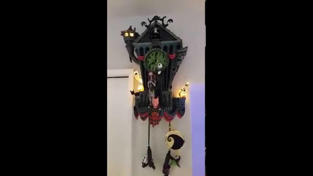 nightmare before christmas cuckoo clock - Nightmare Before Christmas Cuckoo Clock