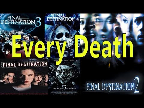 Every Death in Final Destination 1-5
