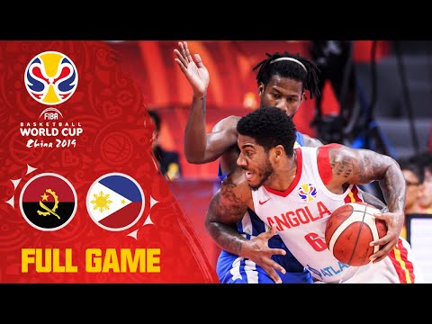 Angola v Philippines was a tough fought battle! - Full Game