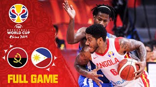 Angola v Philippines was a tough fought battle! - Full Game - FIBA Basketball World Cup 2019