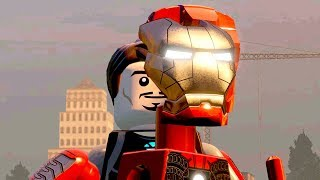 Lego Marvel's Avengers all LEGO Iron Man Transformations | Hulkbuster