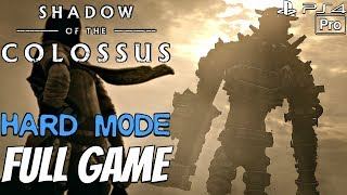 Shadow of The Colossus Remake - Gameplay Walkthrough FULL GAME (HARD MODE) Speedrun PS4 PRO