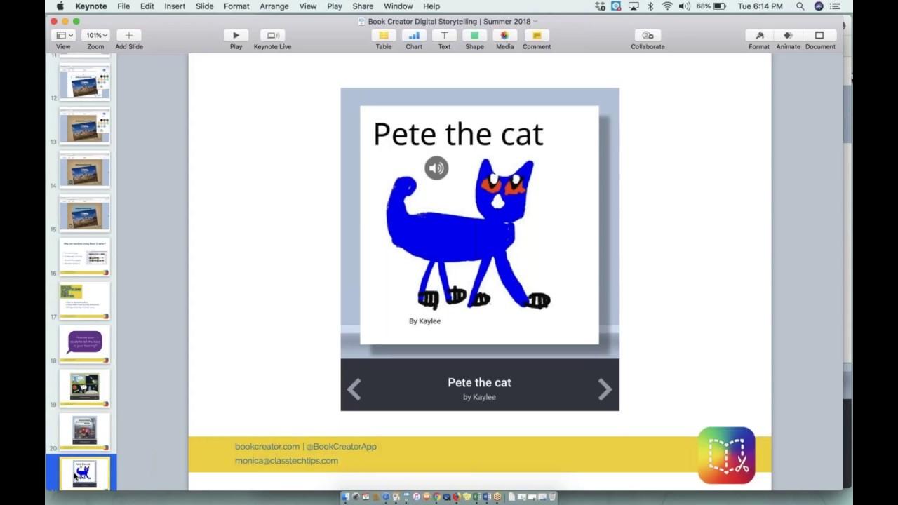 Digital Storytelling with Book Creator