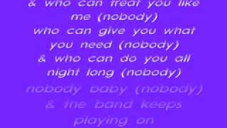 keith sweat nobody lyrics