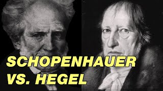 Schopenhauer vs. Hegel. As related by Lord Brummell
