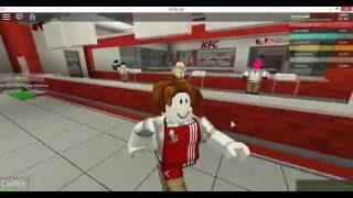 KFC GAMEPLAY ROBLOX