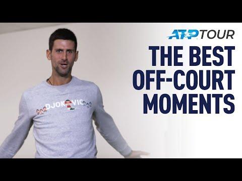 2020 ATP finals blooper reel