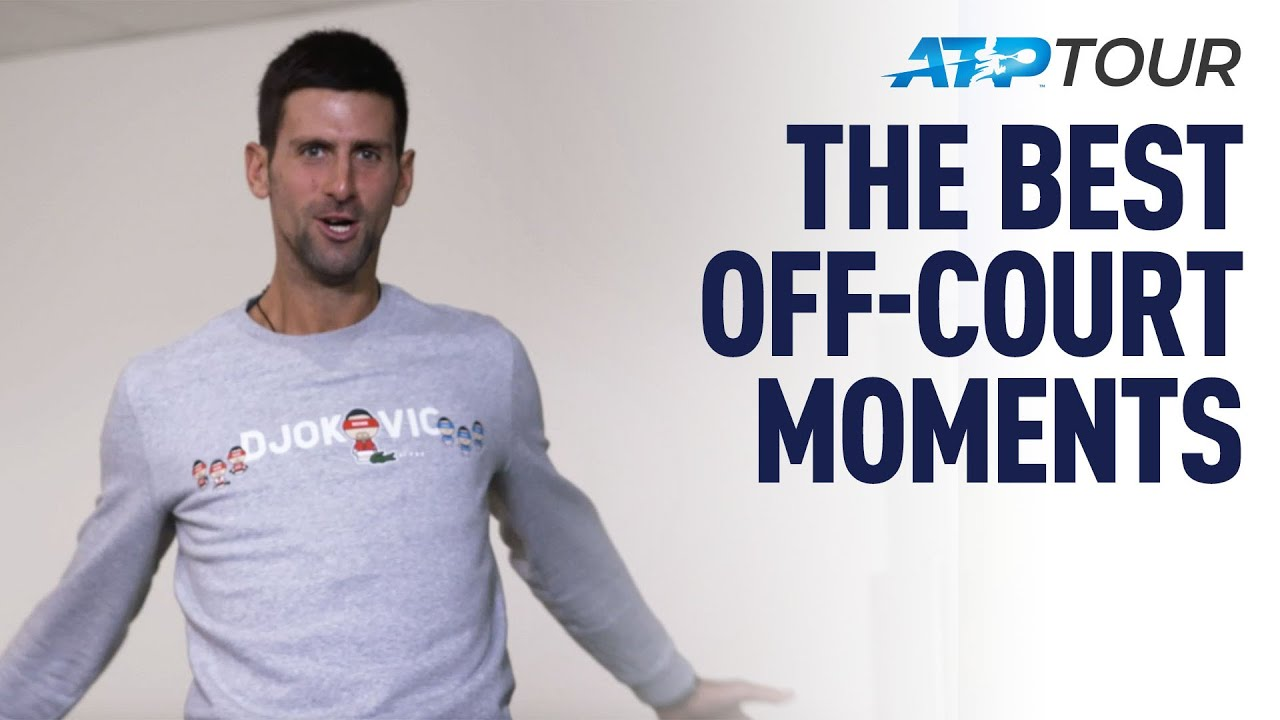 NITTO ATP FINALS | Off-Court Jokes, Bloopers & Skills