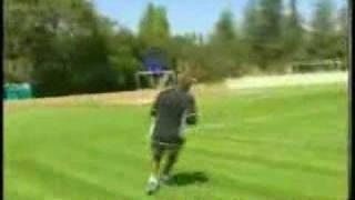 Mayne Event:Jerry Rice Plays Flag Football