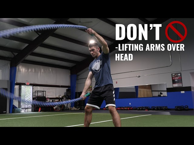 Battle Ropes: Do's and Don'ts of Working Out