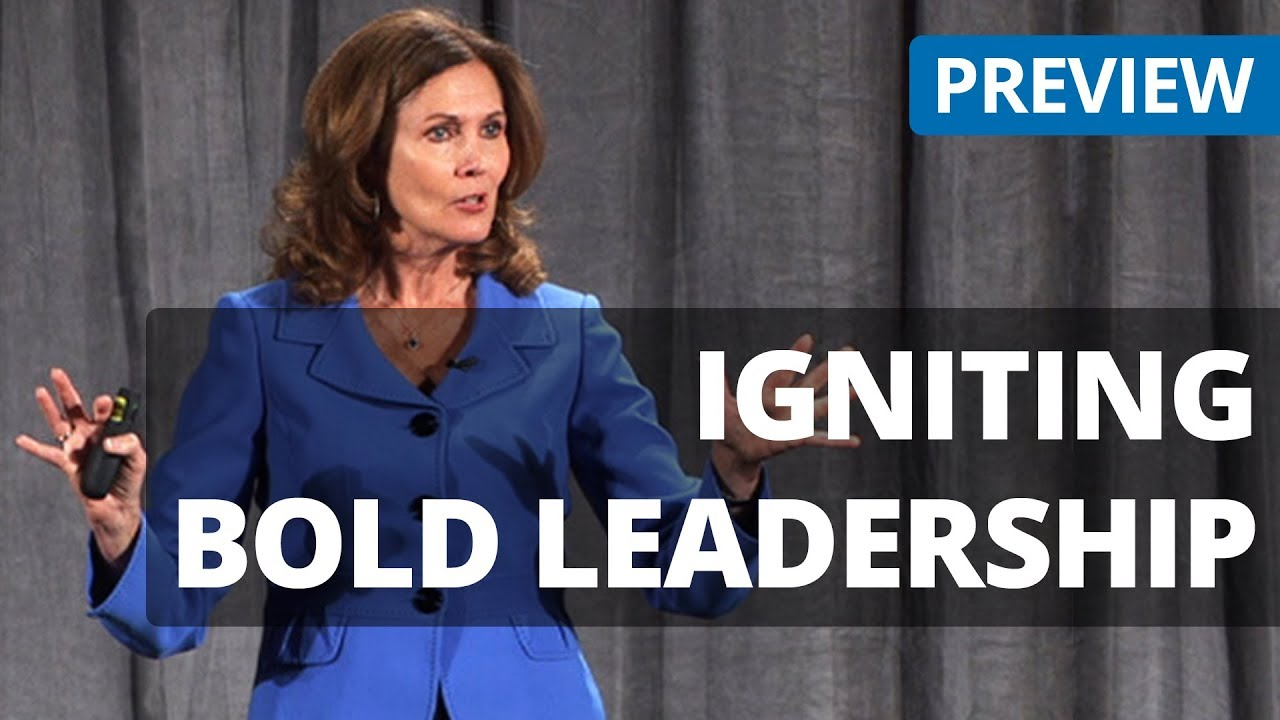 Igniting Bold Leadership - Libby Gill - Create a Culture of Risk