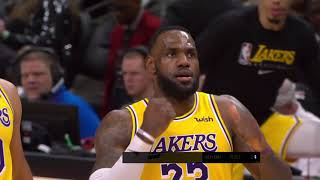 Atlanta Hawks vs Los Angeles Lakers | December 15, 2019
