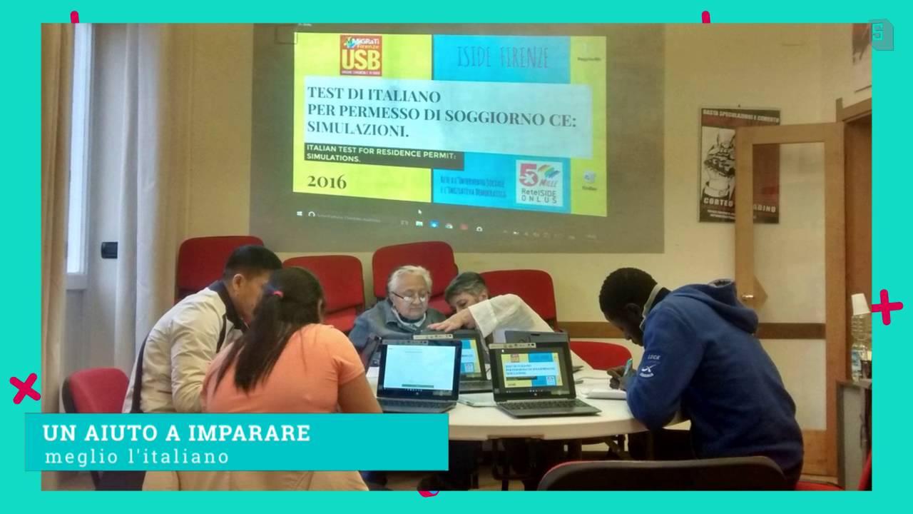 Prove di simulazione Test di Italiano Permesso Soggiorno - YouTube