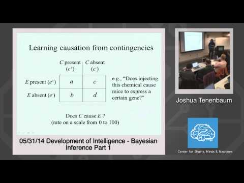 5/31/14 Development of Intelligence - Josh Tenenbaum: Bayesian Inference