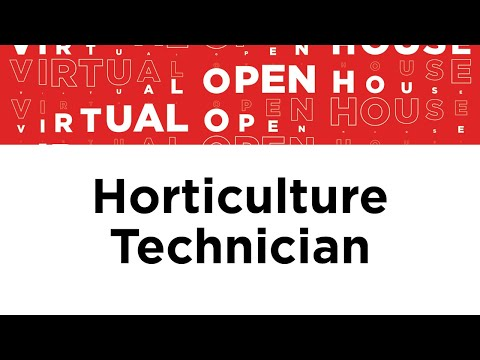 Horticulture Technician