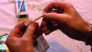 How to roll a Cigaŗette with and without a filter Easily