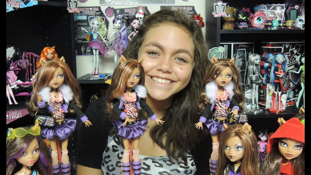 Monster High Clawdeen Wolf Doll Collection By Wookiewarrior23 Youtube